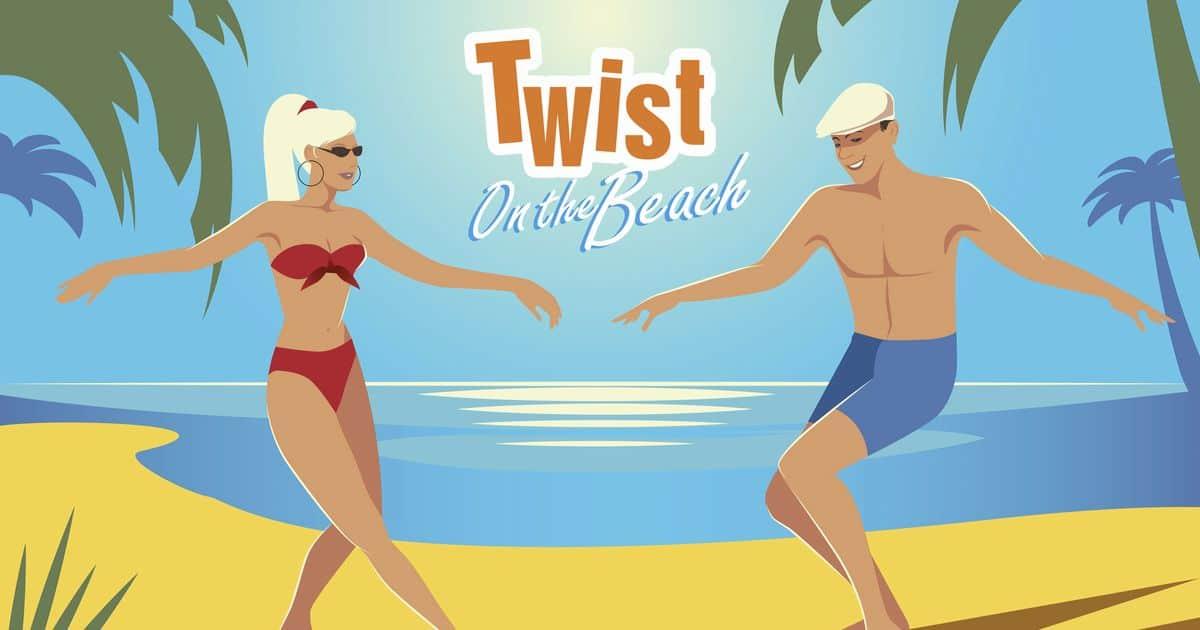 TWIST on the beach