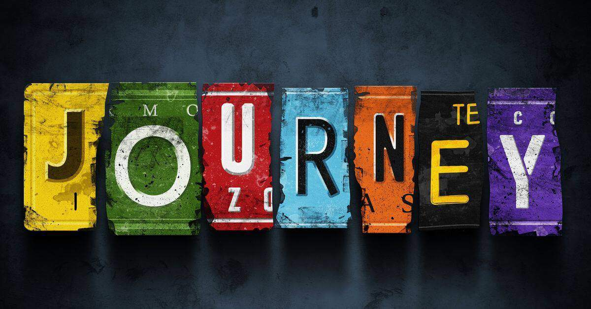 Journeyの文字デザイン