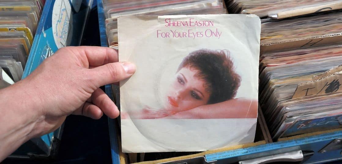 シーナ・イーストンのレコードジャケット